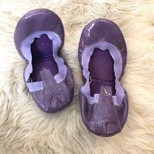 Yosi Samra Foldable Lavender Flats